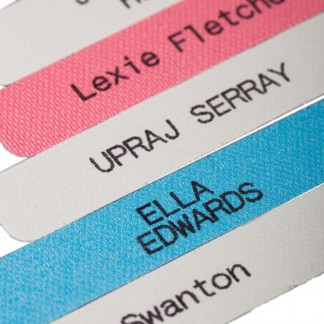 Printed Iron-on Name Labels