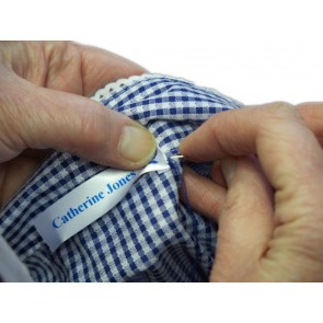 Printed Satin 15mm Sewing Label