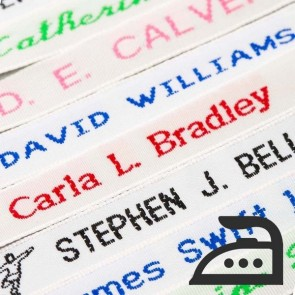 Woven Iron On Name Tapes